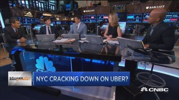 NYC cracking down on Uber?