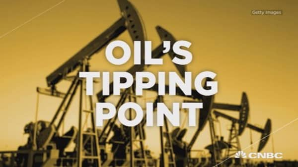 Oil's tipping point