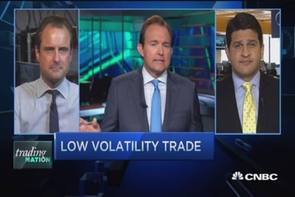Low volatility, big gains?