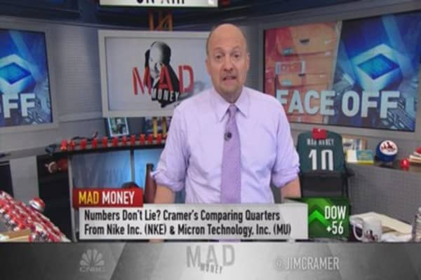 Cramer speaks of sneakers and semis