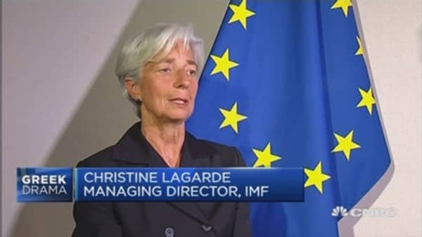 IMF: No aid for Greece until payment is made