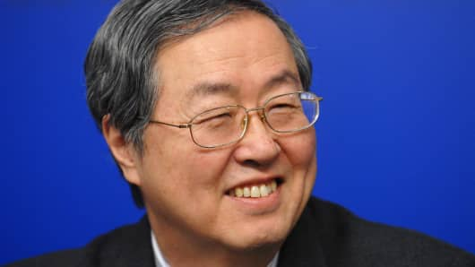 People's Bank of China Governor Zhou Xiaochuan
