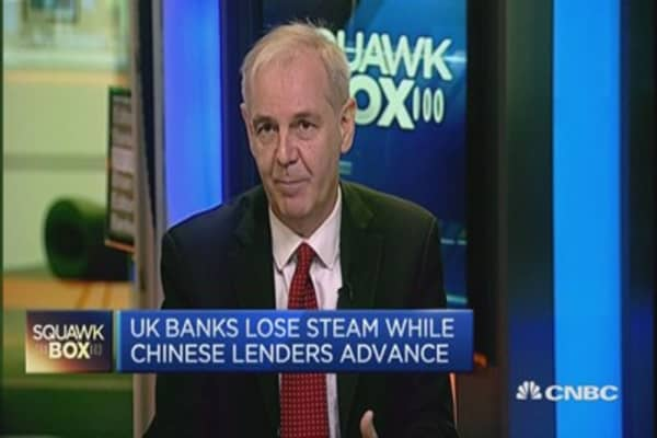 Will HSBC or Standard Chartered leave the UK?