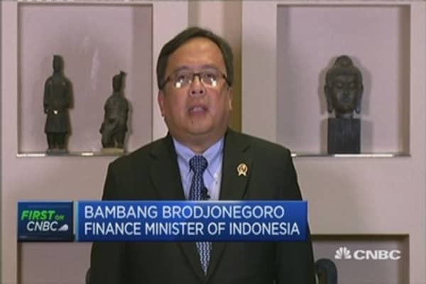 Indonesian FinMin: EMs must watch out for Greece