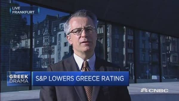 Running out of ratings for Greece: S&P