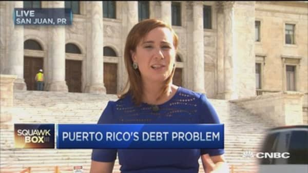 Puerto Rico faces historic $72B default