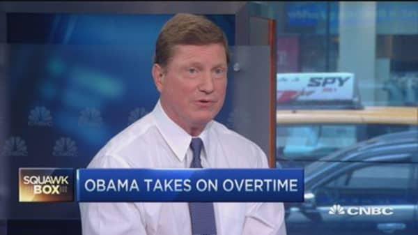 Paychex CEO: Obama overtime plan pressures small biz