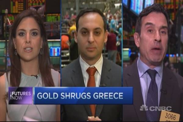 If Greece can't get gold going, what will?