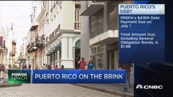 Puerto Rico's debt load