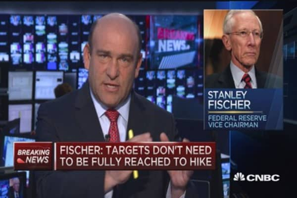 Fed's Fisher: FOMC will weigh rake hikes at upcoming meetings