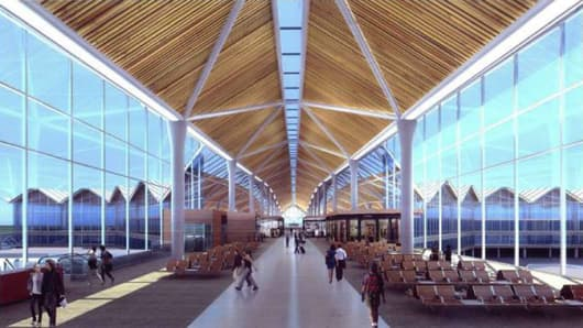 Mactan-Cebu International Airport New Passenger Terminal conceptual design