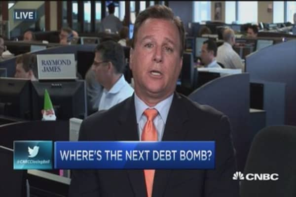 Where's the next debt bomb?