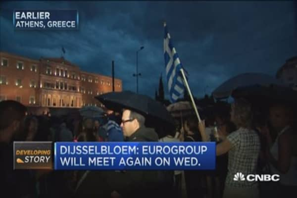 Greece's financial lifeline going, going ...