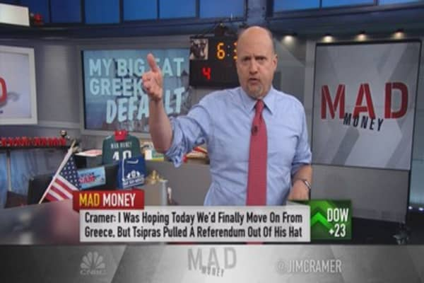 Cramer: Despite Greece, signs of life