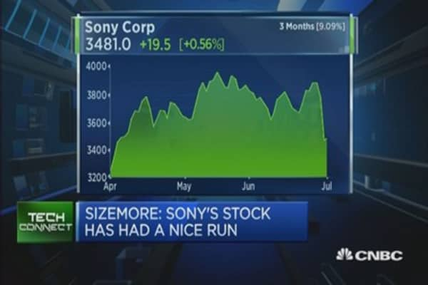 Why Sony shares sold off on planned share sale