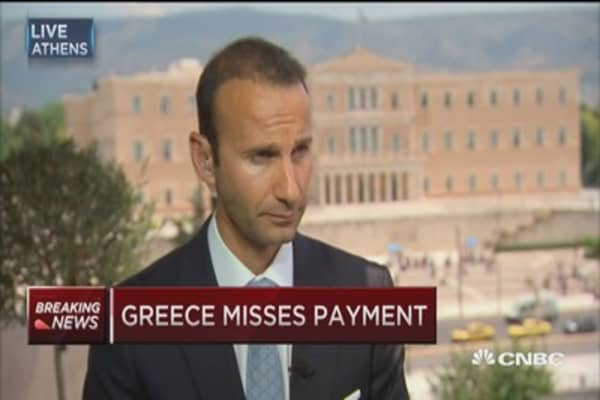 Greece financial crisis 'tip of the iceberg': IGroup founder