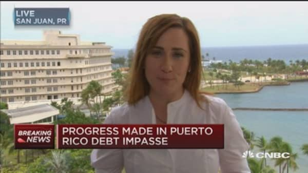 Progress made in Puerto Rico debt impasse: Source