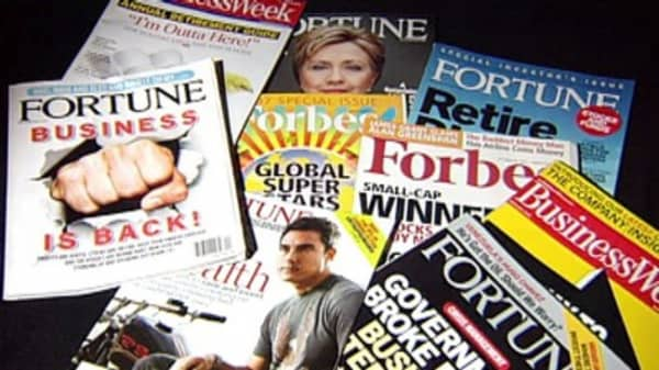 The magazine industry holds on