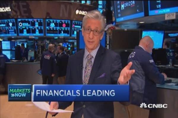 Pisani's market open: GREK up 10%