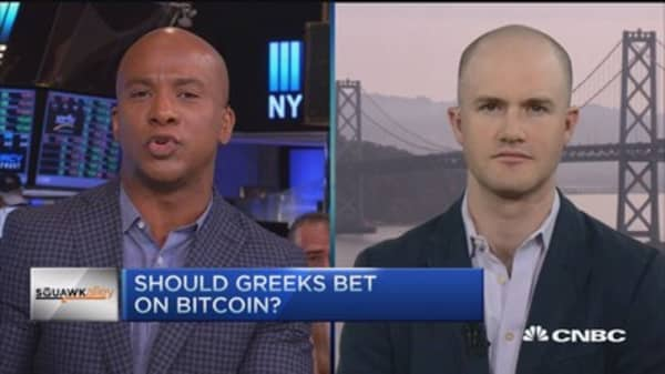 Should Greeks bet on Bitcoin?