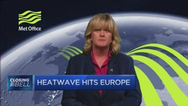 Heatwave hits Europe
