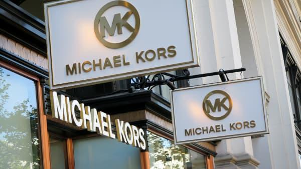 A Michael Kors retail store on Market Street in San Francisco.