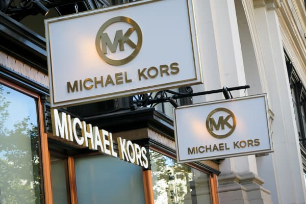 A Michael Kors retail store on Market Street in San Francisco.