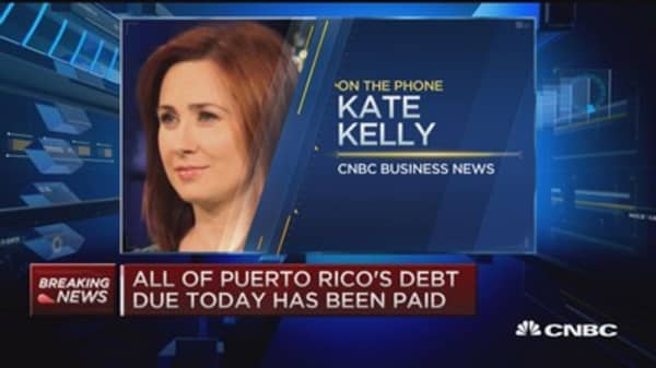 Puerto Rico makes a payment