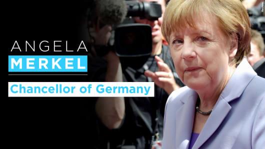 Angela Merkel graphic
