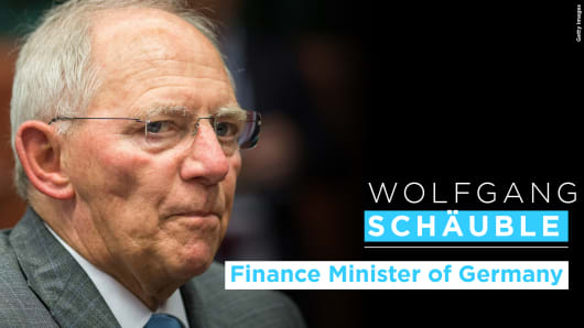Wolfgang Schauble.