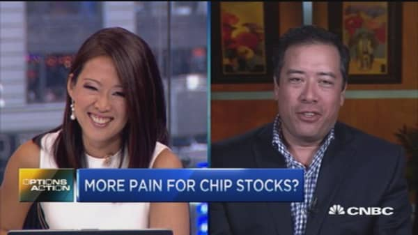Options Action: More pain ahead for chips?