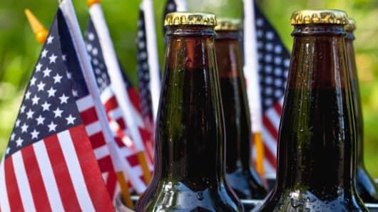 4th of July beer sales