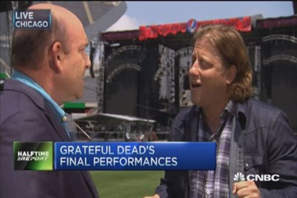 50 years of the Grateful Dead