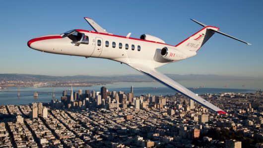 JetSuite plane