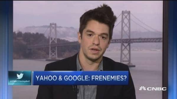 Yahoo tests partnership with Google