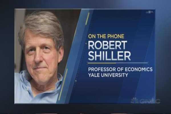 Robert Shiller on stocks vs. bonds