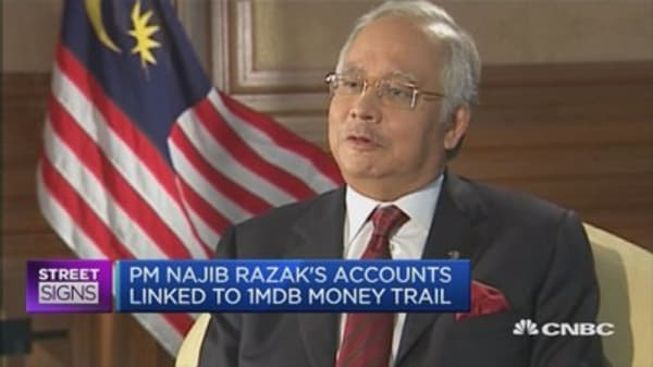 Probe finds 1MBD money in Malaysia PM's accounts: WSJ