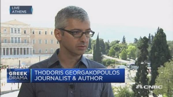 Europe 'has to step up' and help Greece