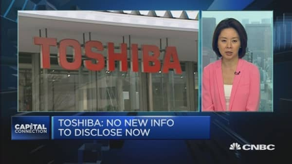 Behind the plunge in Toshiba shares
