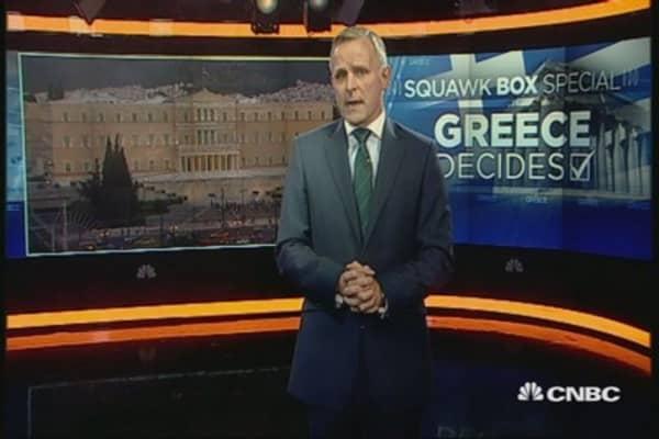 Greek referendum unfolded