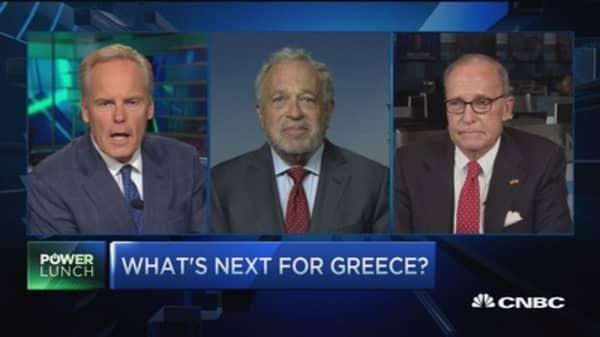 Austerity program put Greece into death spiral: Pro