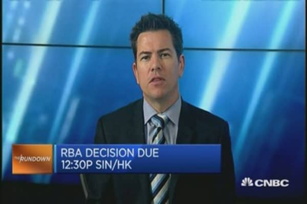 'RBA will be on hold for quite awhile': HSBC