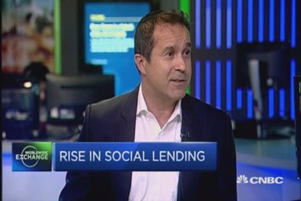 The rise in social lending