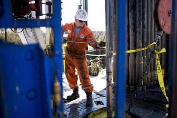 Crude oil correction