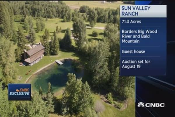 Dick Fuld's ranch estimated to sell $30-$50 million