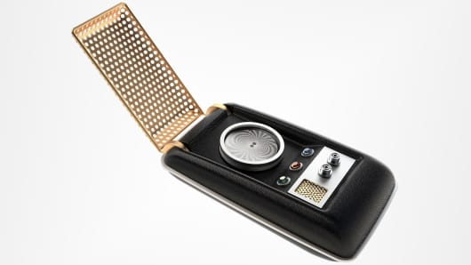 Star Trek The Original Series Communicator Bluetooth Handset is being made available for purchase.