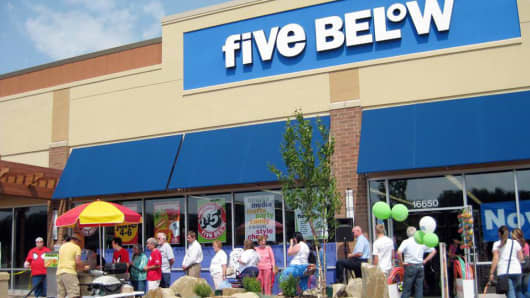Five Below store