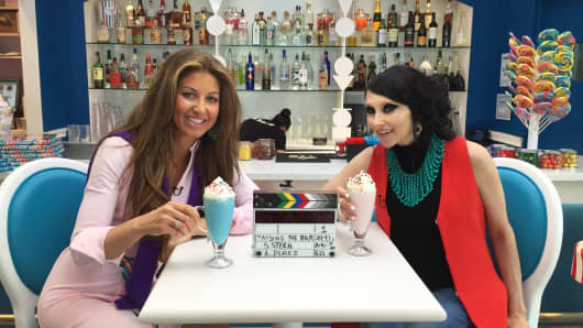 Dylan Lauren (left) and Stacey Bendet Eisner