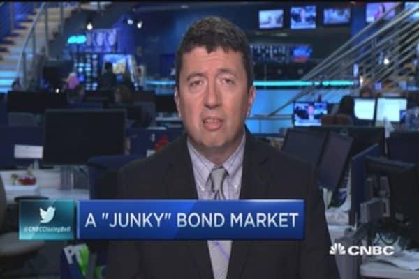 A 'junky' bond market
