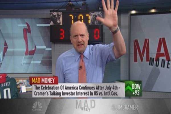 Cramer: Market fed up with Europe